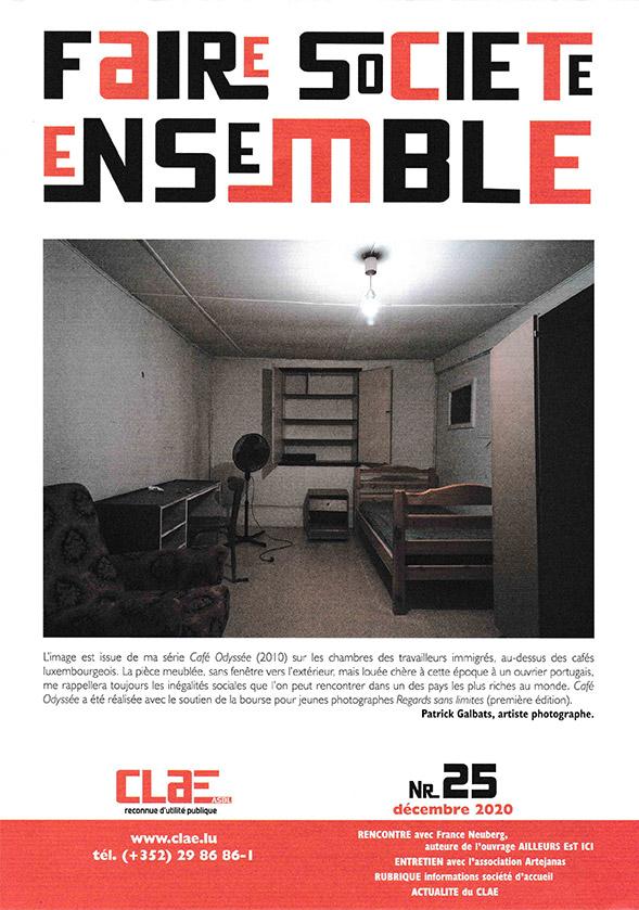 cover clae magazine 25